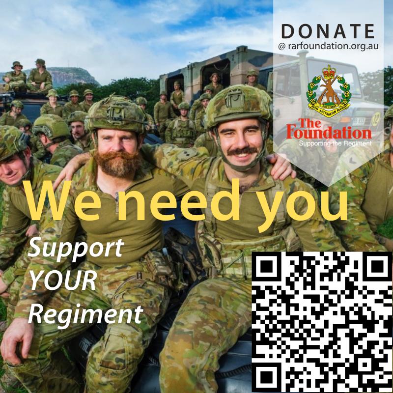 Your Regiment Needs You