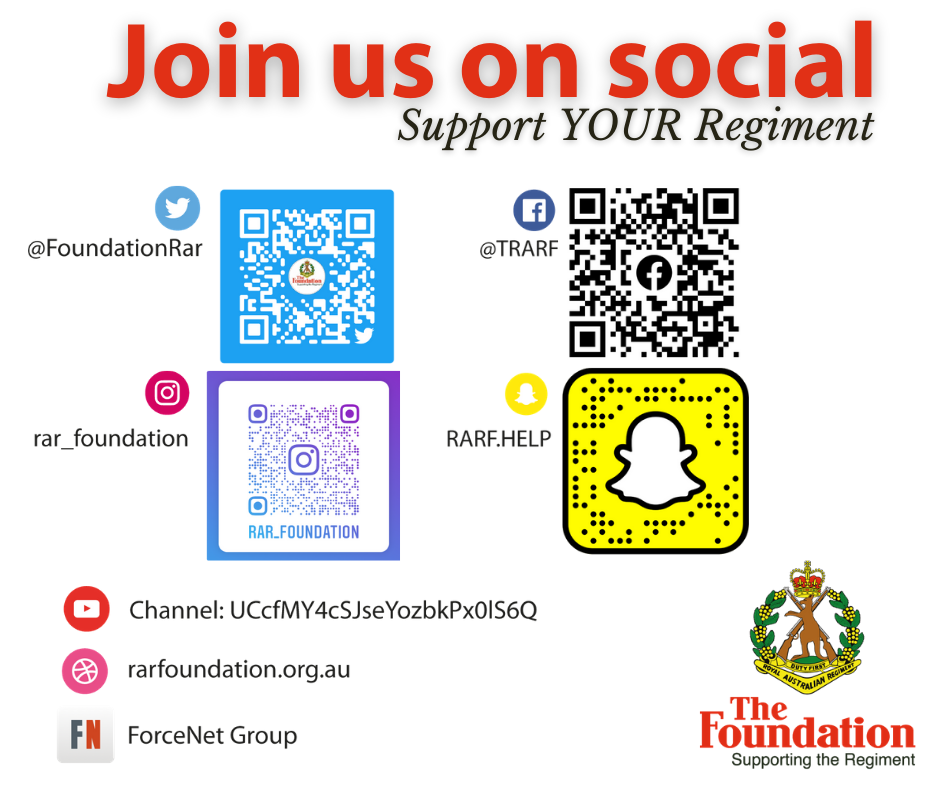 Join us on social...